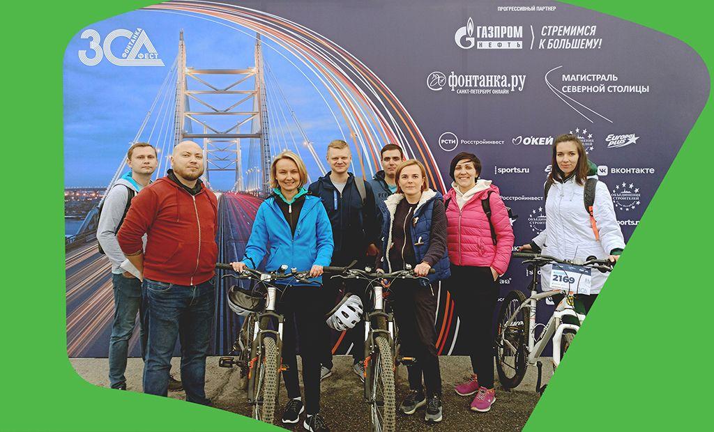 «Таксовичкоф» помог участникам велопробега ЗСД Фест добраться до финиша