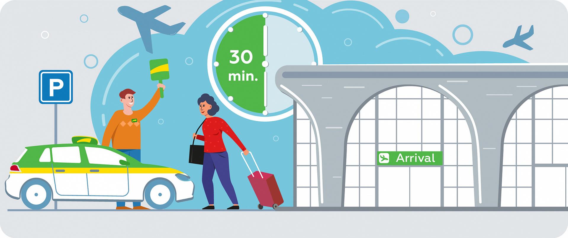 Бесплатное ожидание в аэропорту